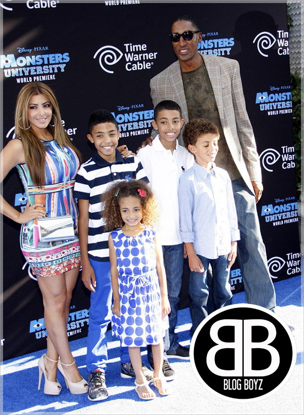 Scottie-Pippen-and-family-at-Monsters-University-Premiere copy